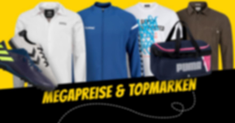 Topmarken zu sportlichen Preisen!
