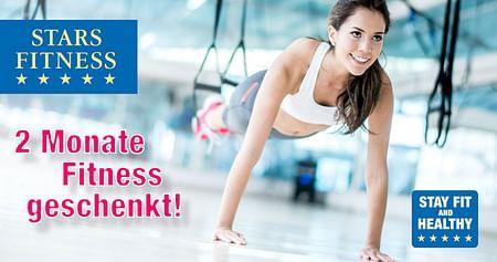 Es wird Zeit dem inneren Schweinehund Lebewohl zu sagen! Mit demStars Fitness Studentenrabatt trainierst du inWien, Klosterneuburg oder St. Pölten2 Monate kostenlosund sparst dir bei deiner Jahresmitgliedschaft 78€.