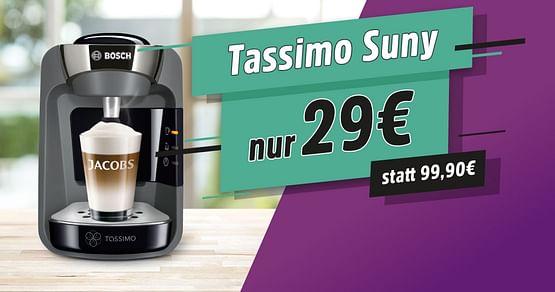 -75% auf die Tassimo Suny