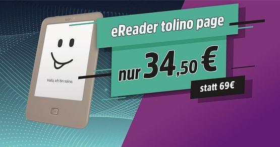 -50% auf eReader tolino page