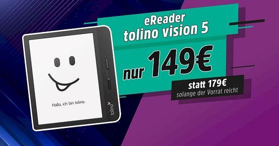 -30€ auf eReader tolino vision