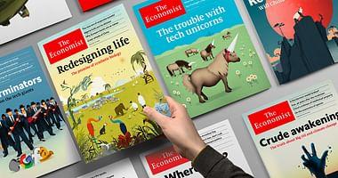 The Economist versorgt dich wöchentlich mit den aktuellsten News aus internationaler Politik & Weltwirtschaft. Mit unserem Studentenrabatt von The Economist bekommst du 10% Nachlass auf das Abonnement!