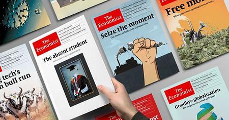 Entgegen den Fake News: Wer sich in Politik & Weltwirtschaft in turbulenten Tagen fundiert informieren möchte, sollte jetzt zuschlagen! Mit demThe Economist Studentenrabatt bekommst du 12 Ausgaben des englischsprachigen Magazins um -50%.