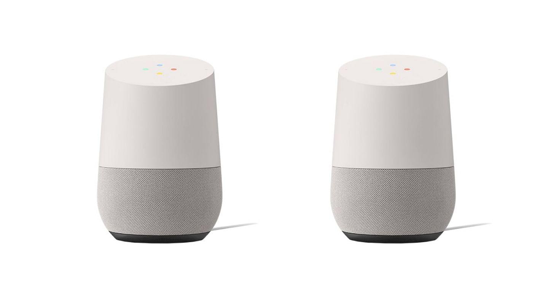 Google Home Speaker im Doppelpack!