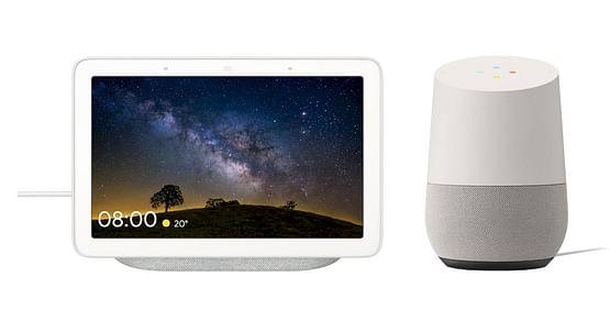 """Die perfekte Kombination aus Smart Display & Smart Speaker! Mit unserem tink Studentenrabatt sicherst du dir jetzt-48% auf die innovativen Smart Home Produkte """"Google Nest Hub"""" & """"Google Home""""."""