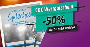 Tickets mit 25€ STUDENT WEEK Rabatt bei WIEN-TICKET !
