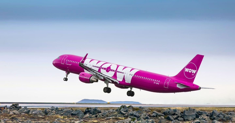 20% Rabatt auf ausgewählte Flüge bei WOW air