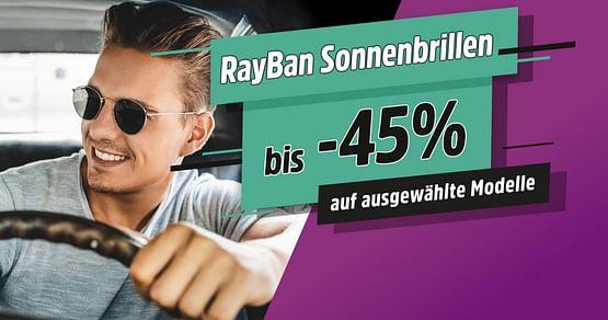 Bis zu -45% auf Ray-Ban